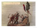 Fanatic Peasants in the Chouan War Giclee Print by Le Sueur Brothers