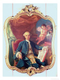 Giacomo Casanova (1725-98) Giclee Print by Anton Raphael Mengs