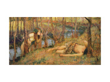 The Naiad, 1893 (Hylas with a Nymph) Giclee Print by John William Waterhouse