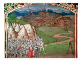 Isabella of France (1292-1358) and Her Troops at Hereford Giclee Print