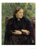 Lichtwark&#39;s Mother, 1908 Giclee Print by Leopold Karl Walter von Kalckreuth