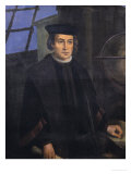 Christopher Columbus (1451-1506) Giclee Print by Jose Roldan