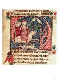 King Arthur Hunting Giclee Print