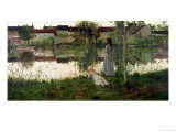 The Ferry Giclee Print by William Stott