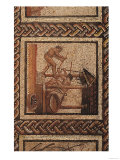 Olive Pressing (Mosaic), Originally from Saint-Romain-En-Gal Giclee Print