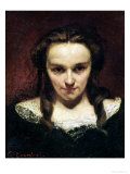 The Clairvoyant Or, the Sleepwalker, circa 1865 Giclee Print by Gustave Courbet