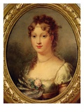 Portrait of Marie-Louise De Hapsburg-Lorraine (1791-1847) Giclee Print by Pierre-Paul Prud'hon