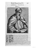 Portrait of Amerigo Vespucci (1454-1512) Giclee Print