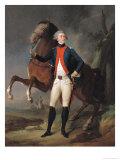 Gilbert Motier (1757-1834) Marquis De La Fayette, 1788 Giclee Print by Louis Leopold Boilly