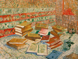 The Yellow Books, c.1887 Reproduction proc&#233;d&#233; gicl&#233;e par Vincent van Gogh