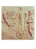 Aphrodite and Hermes Riding on a Chariot Pulled by Eros and Psyche, 470 BC Giclee Print