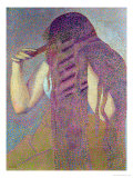 The Hair, circa 1892 Lámina giclée por Henri Edmond Cross