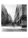 Rue Laffitte, from the Church Notre-Dame-De-Lorette, Paris, 1858-78 Giclee Print by Charles Marville