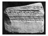 Cast of a Boat from the Acropolis in Athens Giclee Print