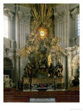 The Chair of St. Peter, 1665 Giclee Print by Giovanni Lorenzo Bernini