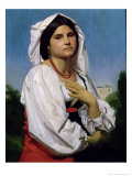 Therese Giclee Print by William Adolphe Bouguereau