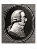 Portrait from a Medallion of Adam Smith (1723-90) Giclee Print by William Holl the Younger