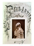 Sarah Bernhardt (1844-1923) in the Role of Marion Delorme at the Theatre De La Porte Saint-Martin Giclee Print by  Nadar