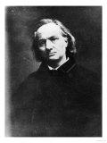 Charles Baudelaire (1821-67) Reproduction procédé giclée