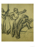 Three Dancers, circa 1900 Giclee Print by Edgar Degas