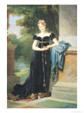 Portrait of Marie Laczinska (1786-1817) Countess Walewska, 1812 Giclee Print by Francois Gerard