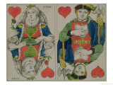 Design for Playing Cards, circa 1810 Giclee Print by Philipp Otto Runge
