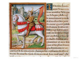 Joan of Arc (circa 1412-31) circa 1505 Giclee Print