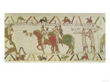 Conan, Duke of Brittany Gives the Keys of the Dinan to William the Conqueror (circa 1028-87) Giclee Print