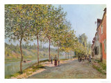 June Morning in Saint-Mammes, 1884 Reproduction proc&#233;d&#233; gicl&#233;e par Alfred Sisley