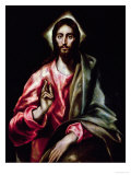 Christ Blessing Giclee Print by  El Greco