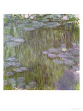 Nympheas at Giverny, 1918 Lámina giclée por Claude Monet