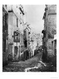 Rue Fresnel, from the Dead End of Versailles, Paris, 1858-78 Giclee Print by Charles Marville