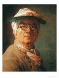 Self Portrait, 1775 Giclee Print by Jean-Baptiste Simeon Chardin