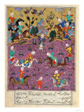 "Siavosh Playing Polo with Afrasiab, from ""Firdawsi's Shahnama"" Giclee Print"