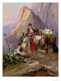 Journey from Paris to Cadiz, 1846 Giclee Print by Eugene Giraud