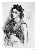 Jeanne Duval, 1865, Charles Baudelaire, Giclee Print