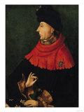 John the Fearless (1371-1419) Duke of Burgundy Giclee Print