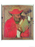 St. Jerome Giclee Print by Theodoricus of Prague 