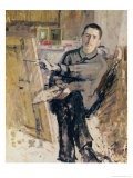 Self Portrait, circa 1907-08 Giclee Print by Roger de La Fresnaye