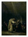 The Last Communion of St. Joseph Calasanz (1556-1648) circa 1819 Giclee Print by Francisco de Goya