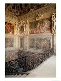 Former Chamber of Anne De Pisseleu (1508-80) Duchesse D'Etampes, 1533-44 Giclée-tryk af Francesco Primaticcio