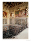 Former Chamber of Anne De Pisseleu (1508-80) Duchesse D'Etampes, 1533-44 Giclee Print by Francesco Primaticcio