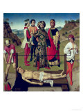 The Martyrdom of Saint Erasmus, Central Panel from the Triptych of Saint Erasmus, circa 1460 Giclee Print by Dieric Bouts