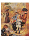 In the Luxembourg Gardens, 1883 Giclee Print by Pierre-Auguste Renoir