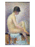 Model in Profile, 1886 Giclee Print by Georges Seurat