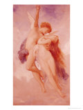 Cupid and Psyche, 1889 Giclee Print by William Adolphe Bouguereau