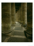 View Inside the Colonnade Giclee Print by Giovanni Lorenzo Bernini