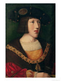 Portrait of Charles V (1500-58), at the Age of About Sixteen, 1516 Giclee Print by Bernard van Orley