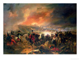 The Battle of Smolensk, 17th August 1812, 1839 Giclee Print by Jean Charles Langlois
