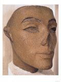 A Royal Head, Possibly of Nefertiti, from Memphis, New Kingdom (Quartzite) Giclee Print